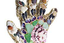 Shell craft ideas / by Barbara Ticich