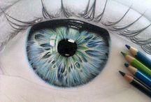 ogen / eyes / by kareltje kunst