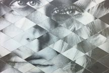 DPA collage / by TPHS Visual Art Department