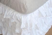 Ruffles lace tulle feminine ideas / by Dawn Bartlett