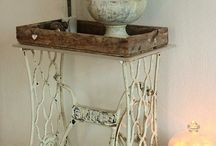 Side table / by Bernadette: That Way By Design
