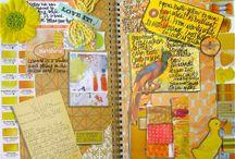 art journaling / by Tiffany Sum