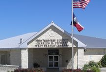 Montgomery / Charles B. Stewart - West Branch Library in Montgomery, TX / by Montgomery County Memorial Library System