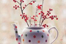 Polka Dots all over  / by Sharon Johnson