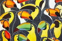 illustration — pattern / by Tiziana Tosoni