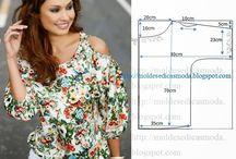 Costurando, customizando / Possibilidades de costura e customização de roupas / by Lucemary Peres