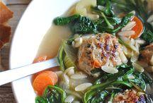 Soups / by Petula Jones