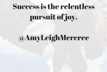 Success Joy / by Amy Leigh Mercree
