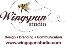 All my work / my illustration and design work www.wingspanstudio.com / by ♥wingspan♥