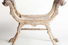 benches/ottomans/stools / by Carol Timberlake
