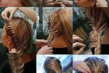 hair styles to try / by Corrine Mead