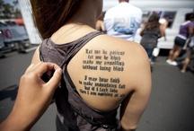 Tattoo's / by Heidi Harman