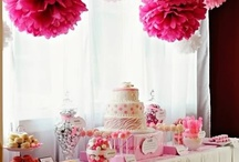 Pink Party Ideas for Emma / by Miranda W