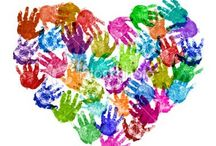 Handprint/Footprint Crafts / by Joan Newman