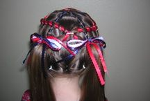 Hairstyles/Gymnastics / by Tammy Mutter