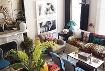 Living and Family Rooms / by Talulah Belle