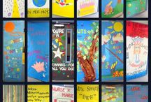 Neat Bulletin Boards and Door Decor / by ATBOT/ The Book Bug