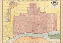 Detroit maps / by Pure Detroit