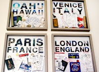 Our Travels Wall / by Alicia Marie