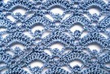 Crochet puntos   /  stitches / by Julliett Diamond