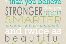 Quotes / by Melissa Muller