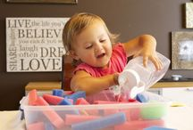 Baby and toddler activities / by Courtney Meyer