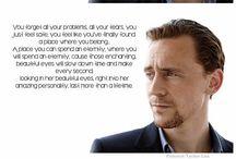 Tom Hiddleston! / by Stephanie Hamilton
