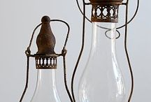 lighting / I primarily go for non-electrical lighting such as candle lanterns,tiki torches and oil lamps, but also love a good chandelier. / by Tiffany Overton