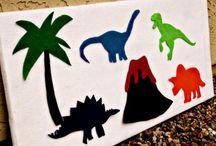 Jacob's Dinosaur Birthday Party / by Sarah Sourour
