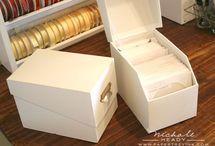 CSI - Dies and Embossing Folders Storage / by www.CraftStorageIdeas.com