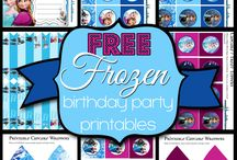 Addison's 5th Birthday Party - Frozen / by Jessica Golden-Kemp