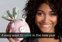 Money Saving Ideas / by Lindsay Littlefield