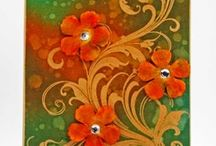 flower cards / by Linda Kupstas