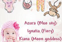 Unique baby girl names / by Raina Hedglin