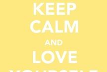 keep calm! / by marley
