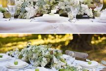 Low Centerpieces / by Tiffany Beasley