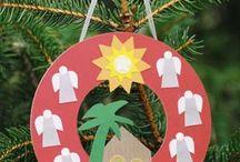 Kleuters: Kerst / Knutselen en andere activiteiten voor Kersr / by Irene van Leeuwen