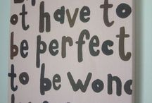Wonderful Words / by Olivia