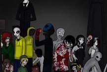 Creepypasta / Slender man  .Jeff the killer .ect. / by victoria amado