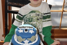 Birthday Cakes & Parties / I am no Martha Stewart, but I enjoy throwing my kids a fun Birthday Party.  I love that my daughter tells all her friends that I make the best cakes ever....how flattering! / by Marci Wilkins Schaal