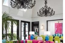 Fancy lighting / by Restored: by Evalynn James Designs