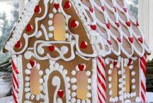 Gingerbread house ideas / by Tonya Dassel