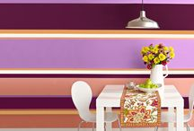 A Dash of Color / Adding color to rooms can give them that needed boost to take them from great, to extraordinary. Don't be afraid of a little color! / by LivingSocial At Home