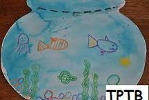 Ocean Theme Ideas for Preschool and Kindergarten / Literacy, Math, Science, Sensory, Arts and Crafts, and Play Suggestions for Fall / by thepreschooltoolbox