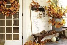 Seasonal - Fall crafts and decors / by Erika Brandlhoffer