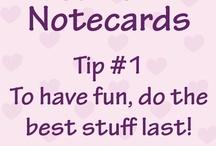 Callie's Notecards / by PenPalGirls