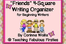 4 square Writing / by Jeanie Rex