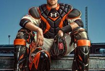 Giant player #28 buster posey and giant player #awsome Brett   / by Terri Van Meter Rupert