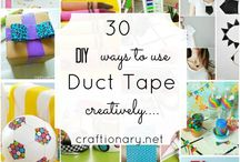 Duct Tape / everything duct tape / by Brigitte Krieg