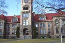 Our beautiful buildings / by Whitman College